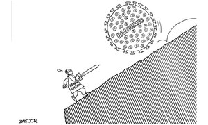 Cartoon: 21 March, 2020