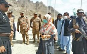 Quarantine centre set up at Afghan border in Chagai
