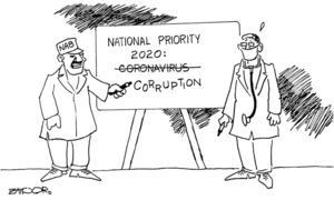 Cartoon: 24 March, 2020