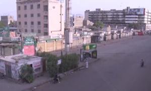 Chaos sweeps business as Sindh lockdowns begin