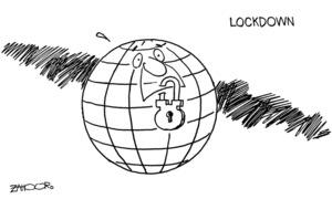 Cartoon: 25 March, 2020