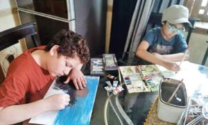 Parents advised to engage children in art activities to avoid trauma