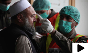 پاکستان میں کورونا وائرس کے کیسز میں مسلسل اضافہ