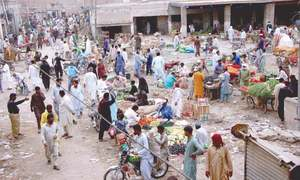 Several hundred Tablighee Jamat members from different cities quarantined in Sukkur mosque