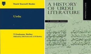 Literary notes: T.G. Bailey and his works on Urdu language and literature