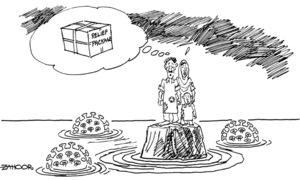 Cartoon: 31 March, 2020