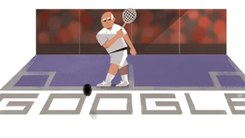 Google Doodle pays homage to Pakistani squash legend Hashim Khan