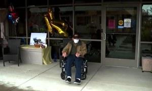 نئے کورونا وائرس کو شکست دیکر 104 ویں سالگرہ منانے والا شخص