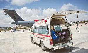 UAE sends another batch of virus medical aid
