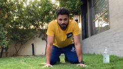 Your favourite cricketers are taking on the push-up challenge in lockdown