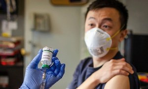 کورونا وائرس کی دوسری ویکسین کی انسانوں پر آزمائش