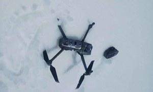پاک فوج نے پاکستانی حدود میں داخل ہونے والا بھارتی ڈرون مار گرایا