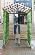 Disinfectant walk-through gates installed in Swat