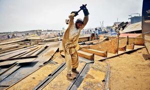 عید کے بعد تعمیراتی شعبے کی 'بحالی' متوقع