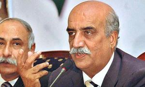 سندھ ہائی کورٹ نے خورشید شاہ اور ان کے بیٹے کی ضمانت مسترد کردی