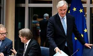 EU official accuses Britain of stalling Brexit negotiations