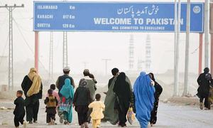 Over 460 stranded Pakistanis return from Afghanistan