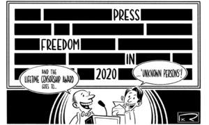 کارٹون : 3 مئی 2020
