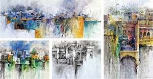 Online exhibition features paintings of old Pindi