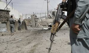 At least five killed in attack on Afghan military centre
