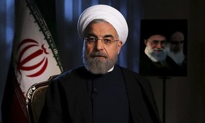 Iran's Rouhani pledges 'crushing response' if US extends arms embargo