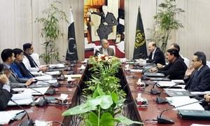 ای سی سی اجلاس میں مختلف منصوبوں کیلئے سپلیمنٹری گرانٹس کی منظوری