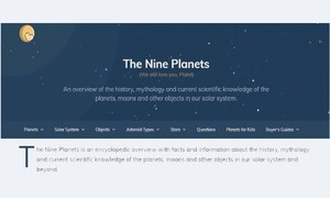 Website review: The planetary tour