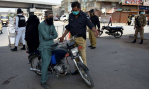 Policemen demand health package, safety gear