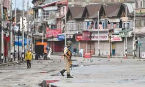 Clashes continue to rock occupied Kashmir