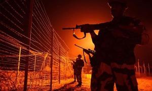Woman schoolteacher killed in Indian firing