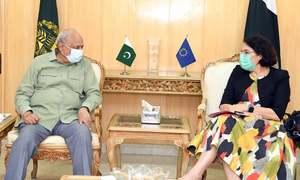 کورونا وائرس: یورپی یونین کا پاکستان کیلئے 26 ارب روپے سے زائد امداد کا اعلان