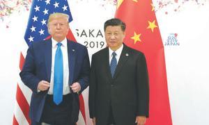 Pandemic clouds US-China trade deal: Trump
