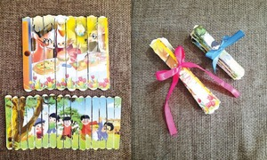 Wonder Craft: Popsicle stick picture puzzle
