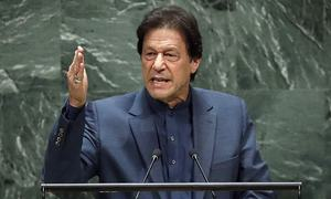 India may conduct false flag operation, says Imran