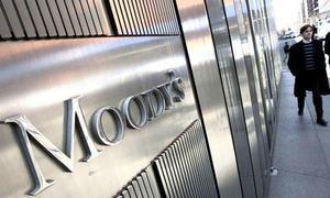 موڈیز نے حکومت کے تعاون کی صلاحیت نہ ہونے پر بینکوں کو جائزے میں شامل کرلیا