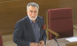 Former Balochistan governor dies at Karachi hospital after testing positive for Covid-19