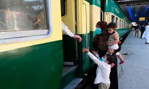 Passengers rejoice as train service resumes from Cantt Station