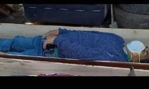 تابوت میں چھپ کر لاش بننے والا پیرو کا ایک میئر پکڑا گیا