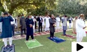 ملک بھر میں نماز عید کے اجتماعات، سماجی فاصلے کا خصوصی خیال رکھا گیا