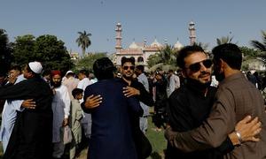 ملک بھر میں سادگی اور احتیاط کے ساتھ عیدالفطر منائی گئی