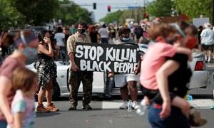Black man dies after video shows officer kneeling on neck