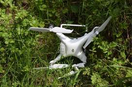 India's spy drone shot down along LoC