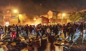 ٹرمپ کی سیاہ فام شخص کے قتل کیخلاف مظاہروں پر فوجی کارروائی کی تنبیہ