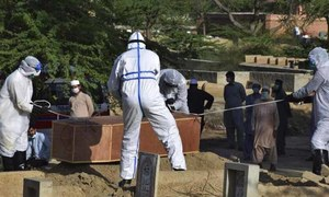 مئی کے دوران پاکستان میں کورونا وائرس کے 54 ہزار کیسز، 11 سو اموات رپورٹ