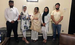 اداکارہ عظمیٰ خان نے ان پر تشدد کرنے والی خواتین کےخلاف مقدمہ واپس لے لیا