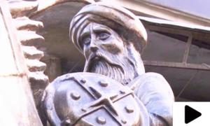 لاہور میں سلطان ارطغرل غازی کا مجسمہ نصب کردیا گیا