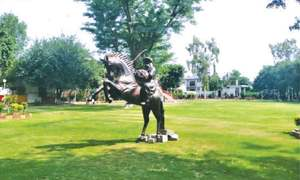 Ertugrul gets a statue in Lahore