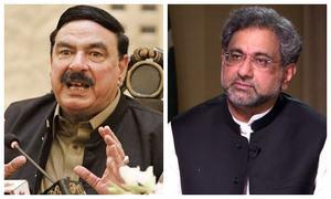 Former PM Shahid Khaqan Abbasi, Railways Minister Sheikh Rashid test positive for Covid-19