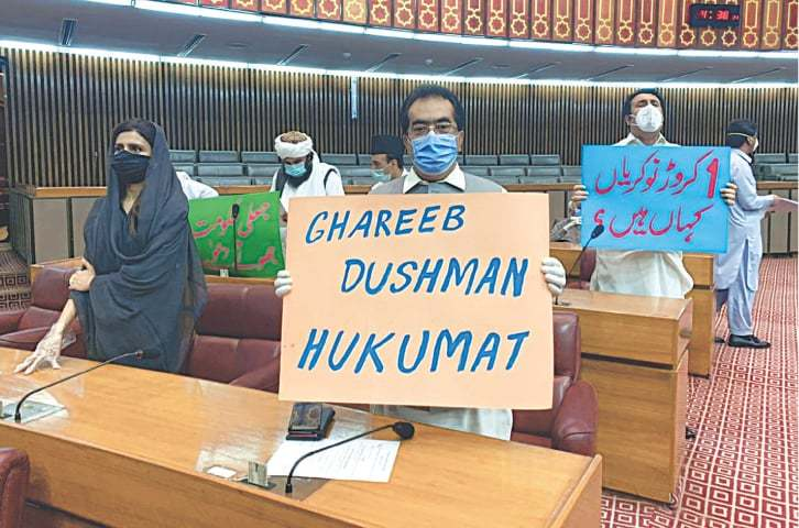 Minister unfazed by noisy opposition protest in NA