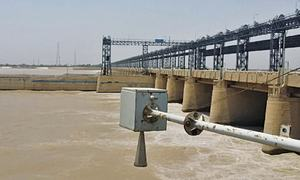 Contractors continue fishing in Indus despite ban